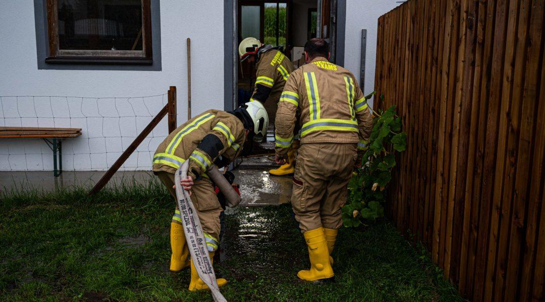 Wasserschaden durch Starkregen