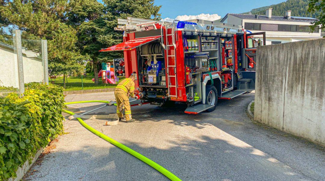 Brandalarm in Lebensmittelhandel