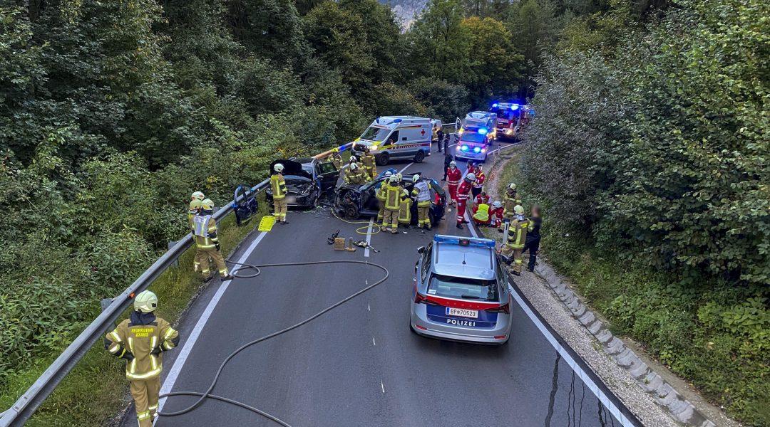 Schwerer Verkehrsunfall auf der L394