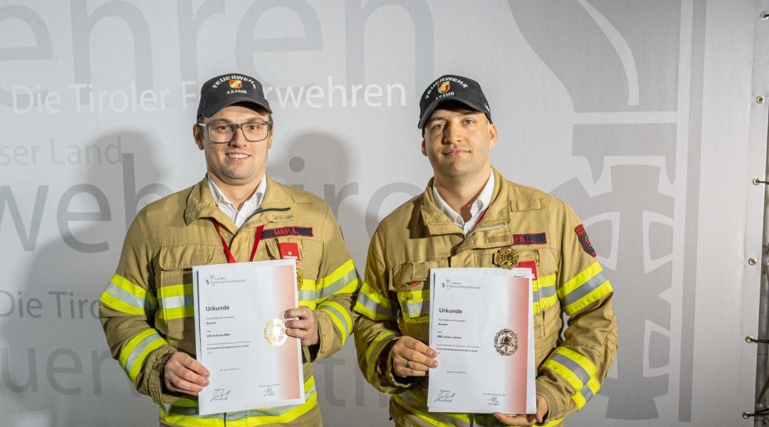 Zwei neue FLA Gold Träger in Axams
